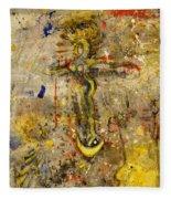 Angel In Journey Fleece Blanket