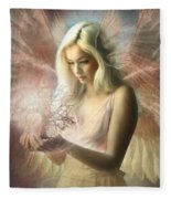 Angel Jehoel Fleece Blanket