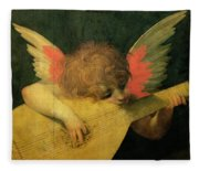 Angel Musician Fleece Blanket