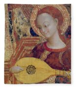 Angel Musician Fleece Blanket