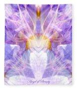 Angel Of Beauty Fleece Blanket