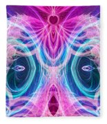 Angel Of Courage Fleece Blanket