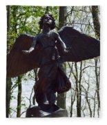 Angel Of Hope Fleece Blanket