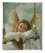 Angel Of Independence Fleece Blanket