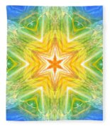 Angel Of Inspiration Fleece Blanket