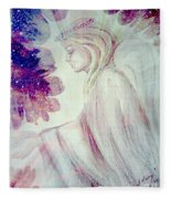 Angel Of Mercy 2 Fleece Blanket