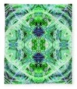 Angel Of The Earth Fleece Blanket