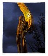 Angel Of The Morning Fleece Blanket