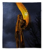 Angel Of The Morning Textured Fleece Blanket