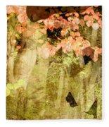 Angel Of The Woods Fleece Blanket