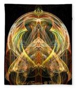 Angel Of Transformation And Change Fleece Blanket