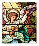 Angel With A Chalice Fleece Blanket