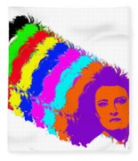 Angela Rainbow-2 Fleece Blanket