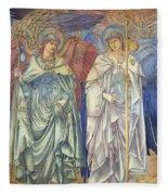 Angeli Ministrantes Fleece Blanket