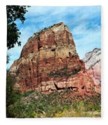 Angel's Landing Fleece Blanket