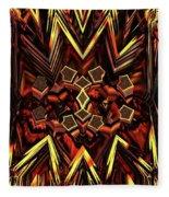 Anger Management Fleece Blanket