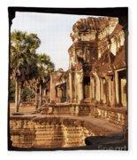 Angkor Wat 02 Fleece Blanket
