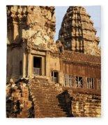 Angkor Wat 03 Fleece Blanket