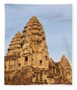 Angkor Wat 04 Fleece Blanket