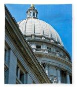 Angle On The Capitol Fleece Blanket