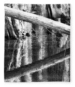 Angles And Reflections Fleece Blanket