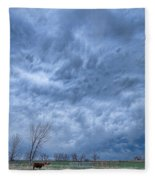 Angry Skies Fleece Blanket