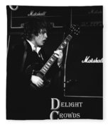 Angus Chords Delight Crowds Fleece Blanket