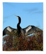 Anhinga Pride Fleece Blanket