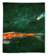 Animal - Fish - Koi - Another Fish Story Fleece Blanket