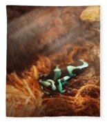 Animal - Frog - Lick The Green Frog Fleece Blanket