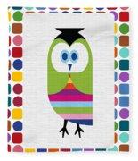 Animals Whimsical 5 Fleece Blanket