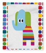 Animals Whimsical 8 Fleece Blanket