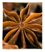 Anise Star Fleece Blanket by Iris Richardson