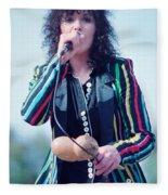 Ann Wilson Of Heart At 1981 Day On The Green In Oakland Ca Fleece Blanket