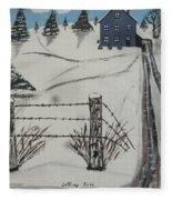 Anna Koss Farm Fleece Blanket