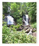 Anna Ruby Falls - Georgia - 1 Fleece Blanket