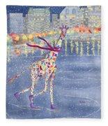 Annabelle On Ice Fleece Blanket