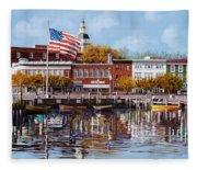 Annapolis Fleece Blanket