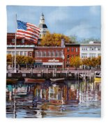 Annapolis Fleece Blanket