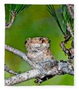 Annas Hummingbird Nest Fleece Blanket