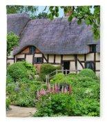 Anne Hathaways Cottage 5975 Fleece Blanket