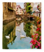 Annecy Fleece Blanket