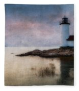 Annisquam Harbor Lighthouse Fleece Blanket