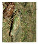 Annual Cicada Fleece Blanket