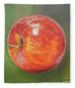 Another Apple Fleece Blanket
