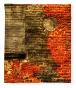 Another Brick In The Wall Fleece Blanket