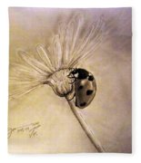 Another Ladybug Fleece Blanket