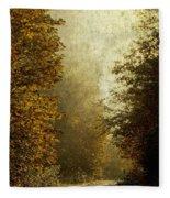 Another Road Travelled Fleece Blanket