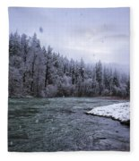 Another Snowy Day Fleece Blanket