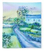 Another Windy Day On Cleare Island Ireland   Fleece Blanket